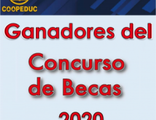 En el 2020 COOPEDUC beneficia a 469 estudiantes con becas y apoyos escolares