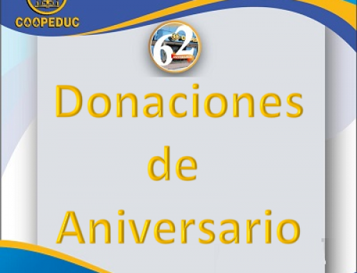 Donaciones de aniversario