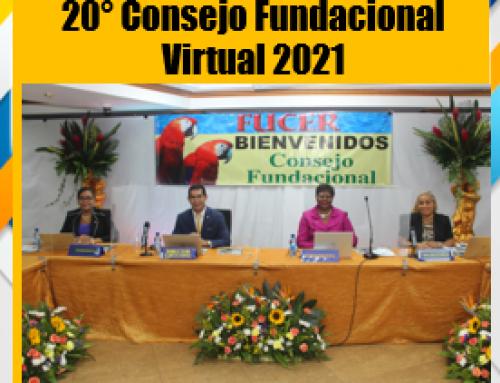 20° Consejo Fundacional Virtual 2021 de FUCER